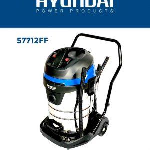 HYUNDAI 57712FF industriele droog en nat stofzuiger 70 liter - 2400W