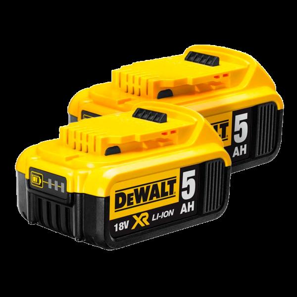 DeWalt DCB184X2 18V Li-Ion 5.0ah XR