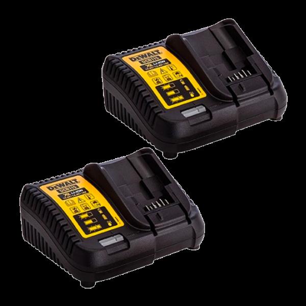 Dewalt DCB115 2X 10,8V 14,4V 18V Li-Ion accu oplader - DCB115-QW
