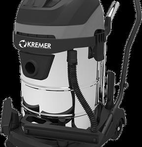 Kremer KR60L-3 industriele droog en nat stofzuiger 60 liter 3000W